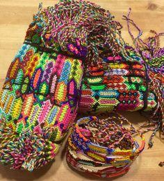 Friendship Bracelets Wholesale lot 15 Silk Linen Wristband Surfer Unisex Hippy