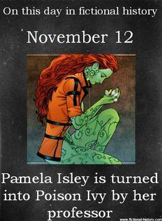 """Happy """"Birthday"""", Poison Ivy(:"""