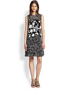 3.1 Phillip Lim Silk Sequined Embroidered Dress (saksfifthavenue.com)