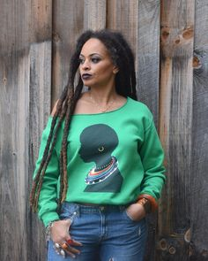 """Long Locs. Thick Locs. Photography by @thesierraofalltrades Statement rings by @rework_creative Sweatshirt by @yeslioness1"""""""