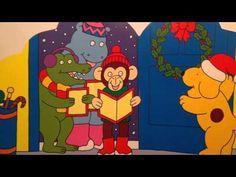 Digitaal prentenboek: Vrolijk Kerstfeest, Dribbel!  Digitaal prentenboek, geschreven door Eric Hill.