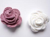 Roses au crochet tuto