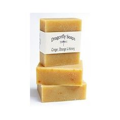 Ginger, Orange and Honey Organic Soap $12.95