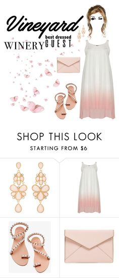 """Untitled #177"" by parkie78 ❤ liked on Polyvore featuring Charlotte Russe, Elina Linardaki, Rebecca Minkoff, napa, winerywedding, bestdressedguest and vineyardwedding"