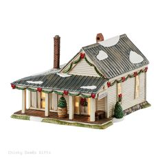 BRAND: Enesco LINE: Department 56 SERIES: Snow Village Jack Daniel's Village ITEM: Jack Daniel's Village Jack Daniel's Office MPN: 4050947 CONDITION: New DATE INTRODUCED: 1/1/2016 SIZE: 4.81 in H x 7.