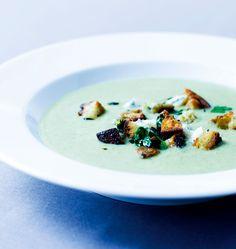 Broccolisuppe med urtecroutoner - Magasinet Liv