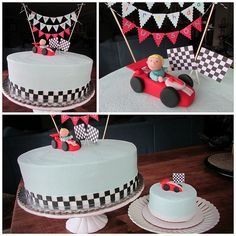 Race Car Theme Cake | Flickr - Photo Sharing!