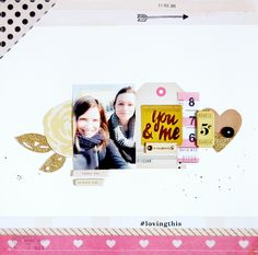 Confetti et Kiss Kiss Collections - Crate Paper