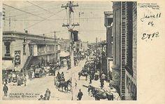WI, Watertown, Wisconsin, Third Street On Market Day, 1906 PM