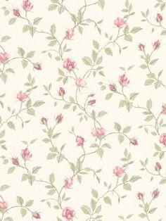 Interior Place - Green 487-68849 Isabella Rosebud Wallpaper, $22.99 (http://www.interiorplace.com/green-487-68849-isabella-rosebud-wallpaper/)