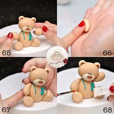 Sheryl Bito BunsInTheOven Cupcakery Malaysia | Party Bear Tutorial