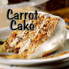 South African Recipes CARROT CAKE
