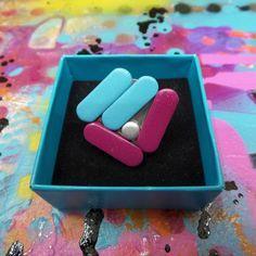"""Pierścionek """"My Pills"""" - kolorowe pastylki w Szostkiewicz_Lukasz na DaWanda.com"""