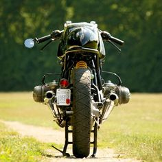 BMW R75/6 cafe racer