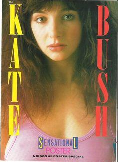 Kate Bush Disco 45 Poster Special, 1985.