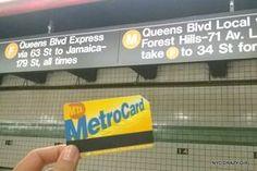 Acheter sa première Metrocard à New York