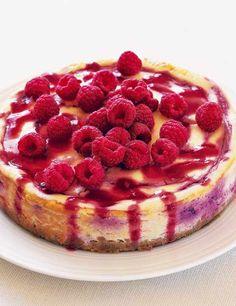 Everyone loves a cheesecake. So why not try our rich and colourful Baked Raspberry Cheesecake Recipe, topped with fresh raspberries for a delicious treat this Mother's Day