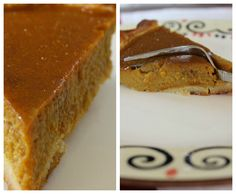 This wouldn't be a bad breakfast option when you get right down to it . . .Healthy Gluten Free Pumpkin Pie