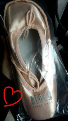 my second pointe shoes<3 #bloch