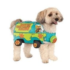 Mystery Machine Halloween Dog Costume