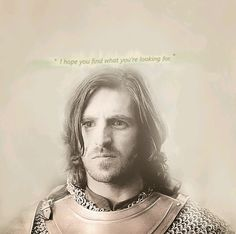 If I remember correctly, these are the last words gwaine says to merlin... Please hold while I go cry my eyes out and sob uncontrollably