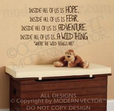 where the wild things are decals - Bing Images