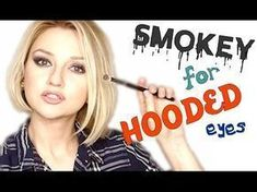 Aly Art Smokey Makeup for Hooded Eyes You can help me to grow my channel, even 1… #hoodedeyemakeup