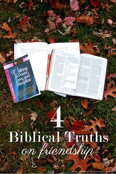 4 Biblical Truths on Friendship