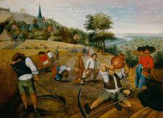 Brueghel el Joven  Pieter - The summer