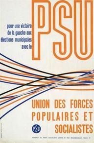 Parti socialiste unifié, France, 1960