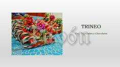 Trineo con chocolates