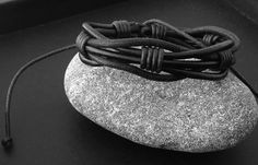 bracelet Homme cuir tressė .nouvelle collection : Bijoux pour hommes par made-with-love-in-aiacciu