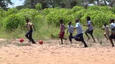 Check out these superstars!  Soccer Balls for Mozambique schools!  Every kid needs a chance to play!  Donate today!