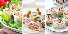 W tym wpisie zestawiłam dla Was ciekawe przepisy na pyszne roladki z tortilli. Zapraszam! Tortellini, Fresh Rolls, Sushi, Ethnic Recipes, Sushi Rolls
