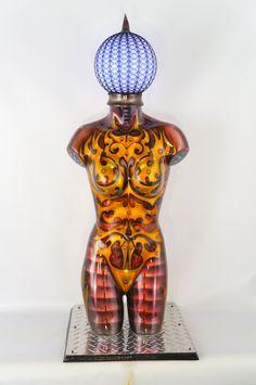 Iron Woman Airbrush Bodypaint Female Mannequin by JesseThoreson, $5000.00