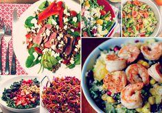 Essas saladas são tão gostosas que você não vai mais sofrer para comer vegetais