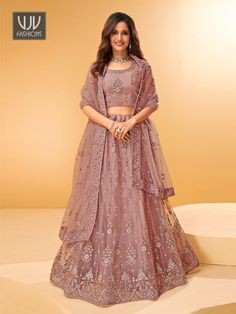 Rs11,100.00 Mirror Work, Lehenga Dupatta, How To Dye Fabric, Vintage Roses, Color Shades, Plus Size, Skirts, Formal Dresses, Work Blouse
