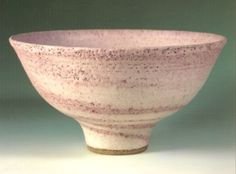 stoneware bowl by Lucie Rie