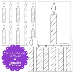 Good Free of Charge Birthday Candles printable Style Time and energy to magnify candle lights! The exact same thing as many as your age! Of course natura Birthday Charts, Happy Birthday Cards, Birthday Greeting Cards, Free Birthday, Shape Templates, Templates Printable Free, Free Printables, Birthday Icon, Popular Birthdays