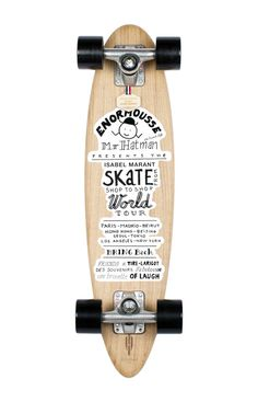 Le skateboard Isabel Marant x Heritage Paris http://www.vogue.fr/mode/news-mode/diaporama/le-skateboard-isabel-marant-x-heritage-paris/11647