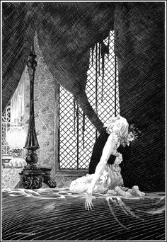 Bernie Wrightson - the best at putting detail and expression and torment into a black and white drawing.