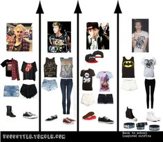 5sos inspired outfits on tumblr. I love these and so need every one of them!!
