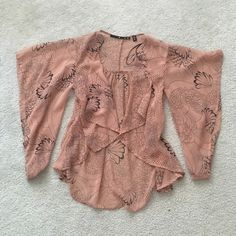 Fashionable cardigan! New without tag! Very beautiful , 100%polyester! NOT ZARA BRAND Zara Jackets & Coats Blazers