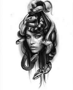 Medusa piece love this iPad man I creat anything Face Tattoos, Forearm Tattoos, Girl Tattoos, Medusa Art, Medusa Gorgon, Medusa Tattoo Design, Tattoo Designs, Girl Face, Woman Face