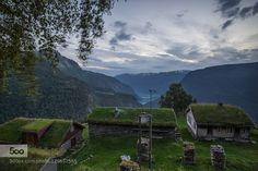Fuglesteg High above the fjord at a very idyllic location.