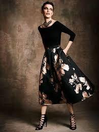 13c4d17ac Resultado de imagen para falda de flores elegante   falda floreada ...