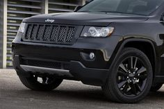 2012 Jeep Grand Cherokee - All Black