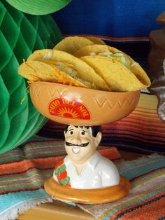 Love this bowl for Cinco de Mayo