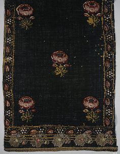 Veil  Date:     late 18th century Geography:     Turkey Culture:     Islamic Medium:     Gold thread