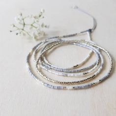 Beaded Wrap Bracelets, Seed Bead Bracelets, Bracelet Sizes, Handmade Bracelets, Seed Beads, Beaded Jewelry, Beaded Necklace, Boho Stil, Minimalist Jewelry